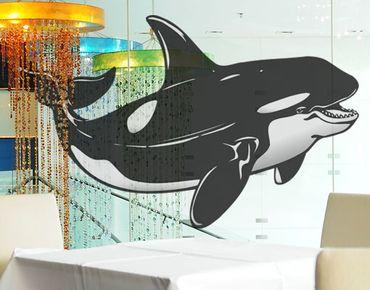 Adesivi da finestra No.TA51 Orca