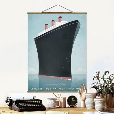 Foto su tessuto da parete con bastone - Poster Viaggi - Nave da crociera - Verticale 4:3