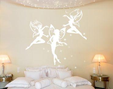 Adesivo murale No.CG137 Dancing Fairies