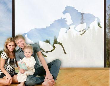 Pellicole per vetri - no.177 Two Horses