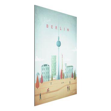 Stampa su alluminio - Poster viaggio - Berlino - Verticale 3:2