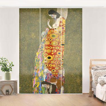 Tende scorrevoli set - Gustav Klimt - Hope