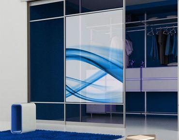 Decorazione per finestre Blue Element No.2