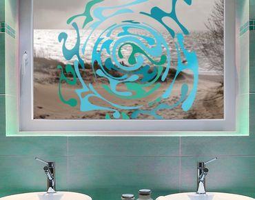 Adesivi da finestra No.IS50 Curl of Water