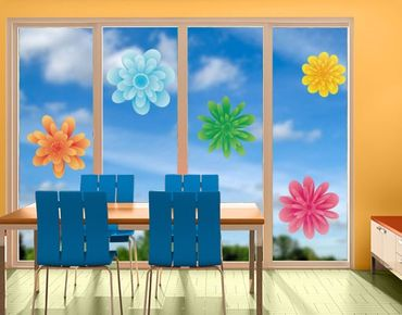 Adesivi da finestra no.EG22 Summer Blossoms