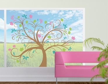 Adesivi da finestra no.57 Magic Tree