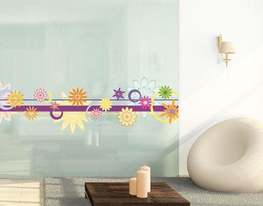 Adesivi da finestra No.FB18 Colourful decoration