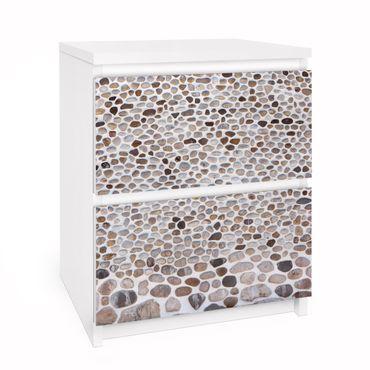 Carta adesiva per mobili IKEA - Malm Cassettiera 2xCassetti - Andalusian Sonewall