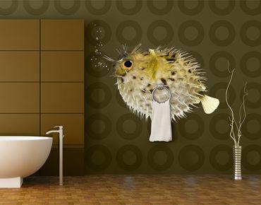 Adesivo murale no.602 Globefish