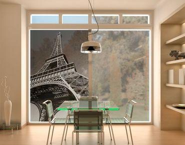 Decorazione per finestre Eiffel Tower