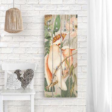 Appendiabiti in legno - Coloniale Collage - Galah - Ganci cromati - Verticale