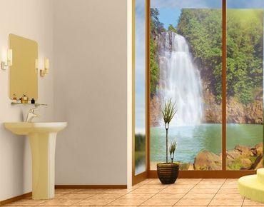 Decorazione per finestre Waterfall Romance