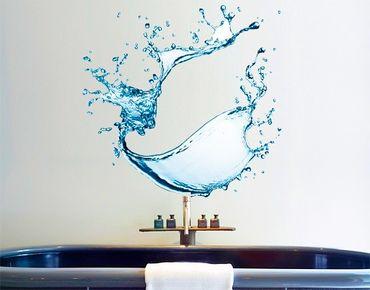 Adesivo murale No.471 Splashing Water