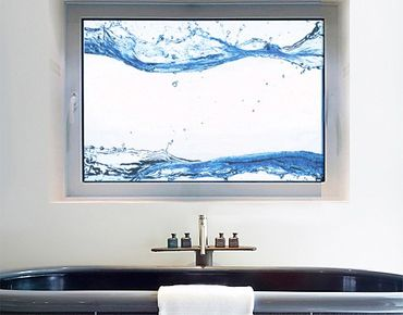 Adesivi da finestra no.472 Waterworlds