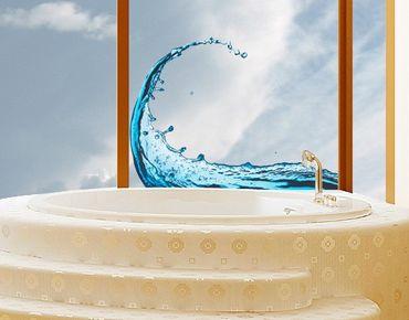 Adesivi da finestra No.476 Splashing Wave