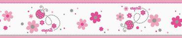 Carta da parati - Esprit Esprit Kids 5 Lucky Love in Grigio Rosso Bianco