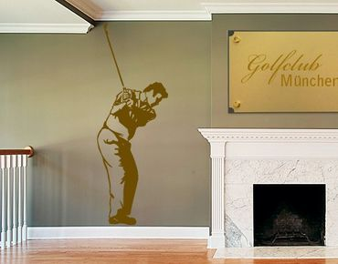 Adesivo murale no.810 Golf Player