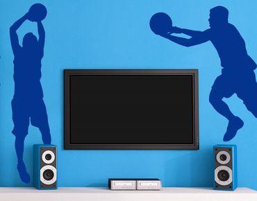 Adesivo murale no.813 Basketball Player