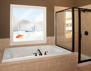 Adesivi da finestra no.479 Goldfish