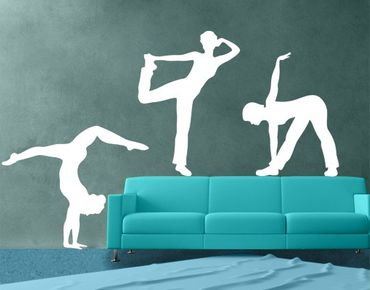Adesivo murale no.821 Dancer Set