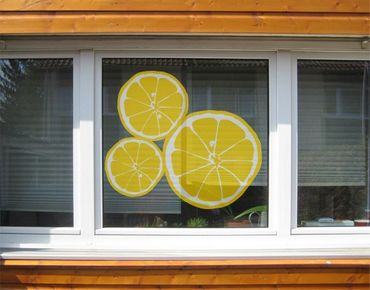 Adesivi da finestra No.UL610 Lemons