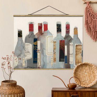 Foto su tessuto da parete con bastone - Wine & Spirits I - Orizzontale 3:4