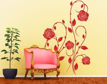 Adesivo murale No.IS74 Tendril of Roses