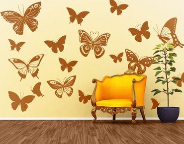 Adesivo murale no.EG38 Butterflies 2