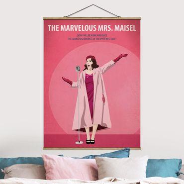 Foto su tessuto da parete con bastone - Poster del film La signora Marvelous Maisel - Verticale 4:3