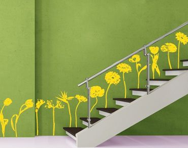 Adesivo murale No.FB32 Colourful Flowermix