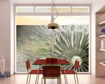 Decorazione per finestre Black & White Dandelion