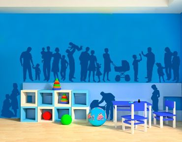 Adesivo murale no.847 Family Set