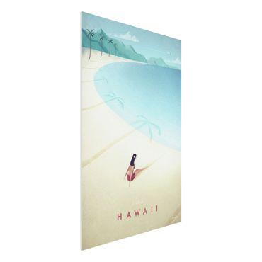 Stampa su Forex - Poster Viaggi - Hawaii - Verticale 3:2