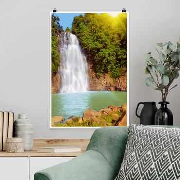 Poster - Waterfall Romance - Verticale 3:2