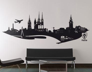 Adesivo murale No.AC5 Skyline Halle