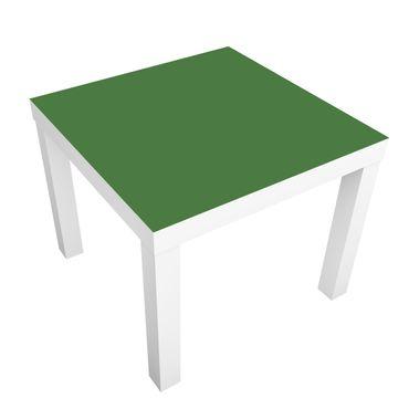 Carta adesiva per mobili IKEA - Lack Tavolino Colour Dark Green