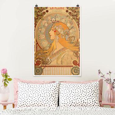 Poster - Alfons Mucha - Segni dello zodiaco - Verticale 3:2