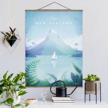 Foto su tessuto da parete con bastone - Poster Viaggi - Nuova Zelanda - Verticale 4:3
