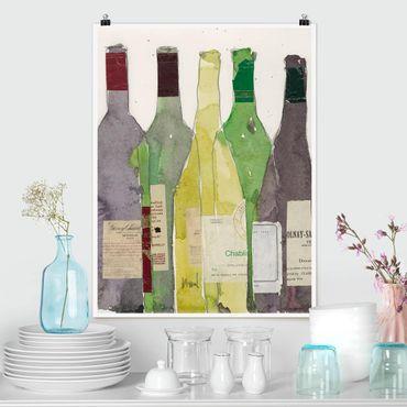 Poster - Wine & Spirits III - Verticale 4:3