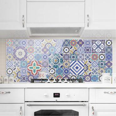 Paraschizzi in vetro - Mirror Tiles - Elaborate Portuguese Tiles