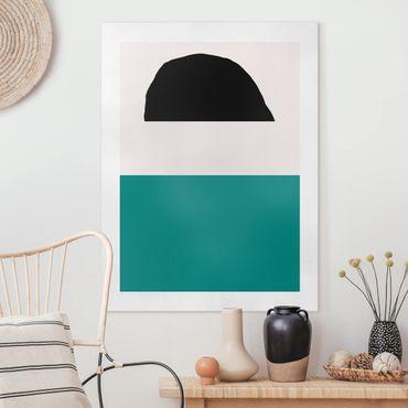 Quadri su tela - Line Art Abstract Shapes