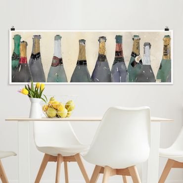 Poster - Uncorked - Champagne - Panorama formato orizzontale