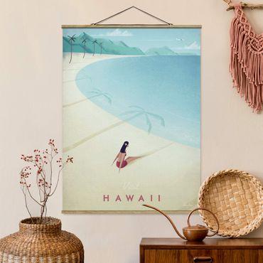 Foto su tessuto da parete con bastone - Poster Viaggi - Hawaii - Verticale 4:3