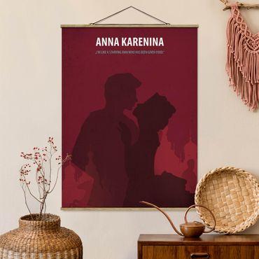 Foto su tessuto da parete con bastone - Poster del film Anna Karenina - Verticale 4:3