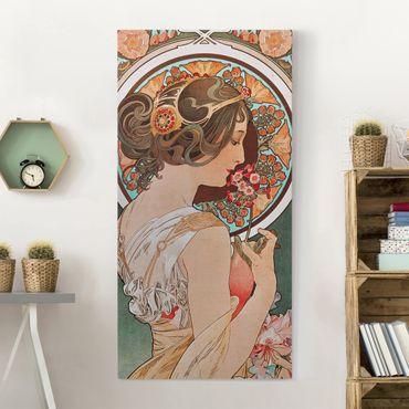 Quadri su tela - Alfons Mucha - Primrose