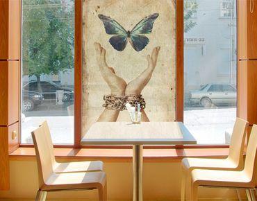 Decorazione per finestre Fly, Butterfly!