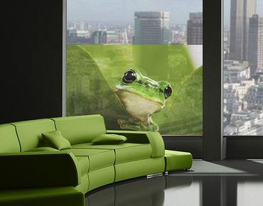 Decorazione per finestre Tree Frog