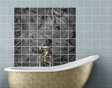 Adesivo per piastrelle - Disturbing bathroom