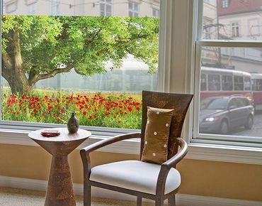 Decorazione per finestre Summer Meadow