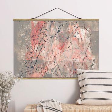 Foto su tessuto da parete con bastone - Blush I - Orizzontale 2:3